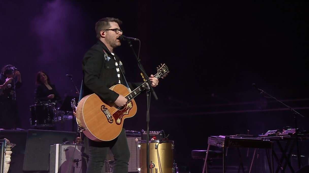 The Decemberists perform