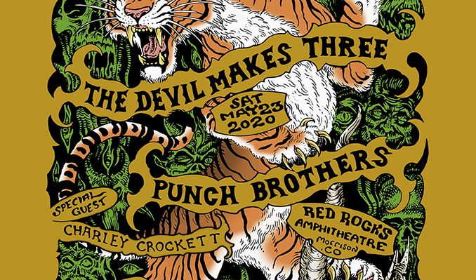The Devil Makes Three and Punch Brothers – Cancelled