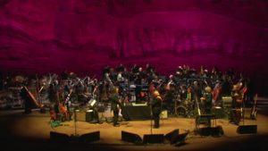 John Prine and the Colorado Symphony peforms