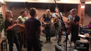 The Wood Brothers Backstage Rehearsal with Steep Canyon Rangers