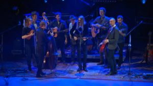 The Wood Brothers with Steep Canyon Rangers perform